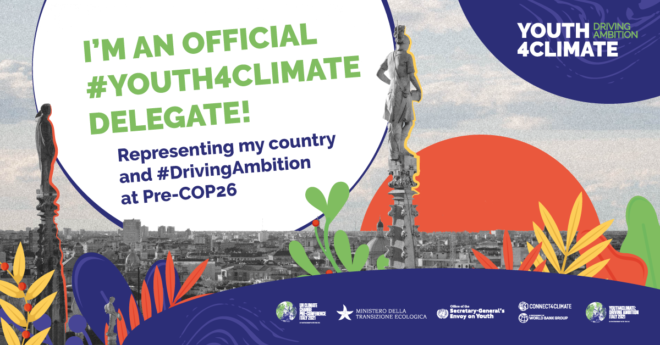 Max Fontaine représentera Madagascar au sommet Youth4Climate : Driving ambition